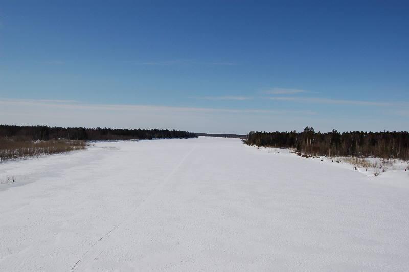 Природа западной сибири зима